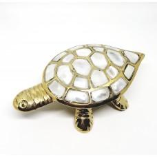 Pirinç Kaplumbağa Mücevher Kutusu