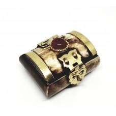 Ahşap El Yapımı Kolye Takı Mücevher Kutusu